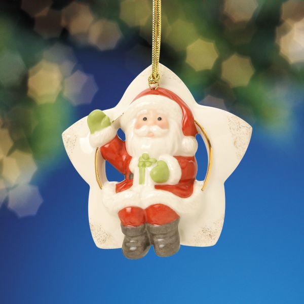 Lenox Santa Sitting On A Star Ornament Fitzula S Gift Shop