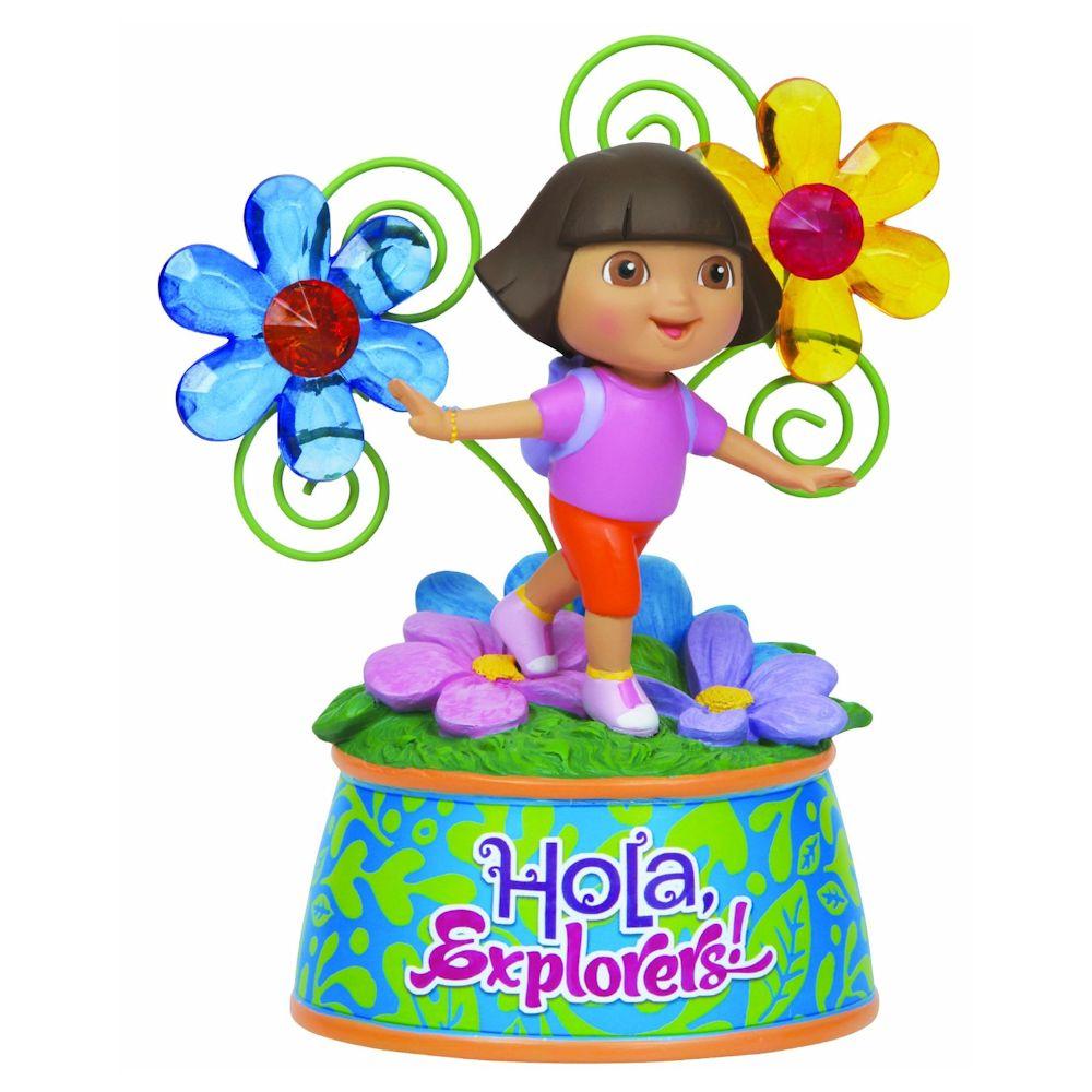 Precious Moments Dora The Explorer Dora With Flowers ...
