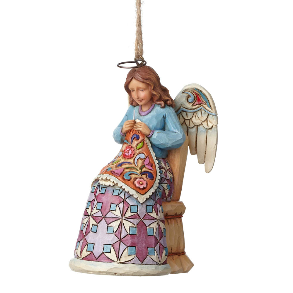 Heartwood Creek Christmas Collection Sewing Angel Hanging