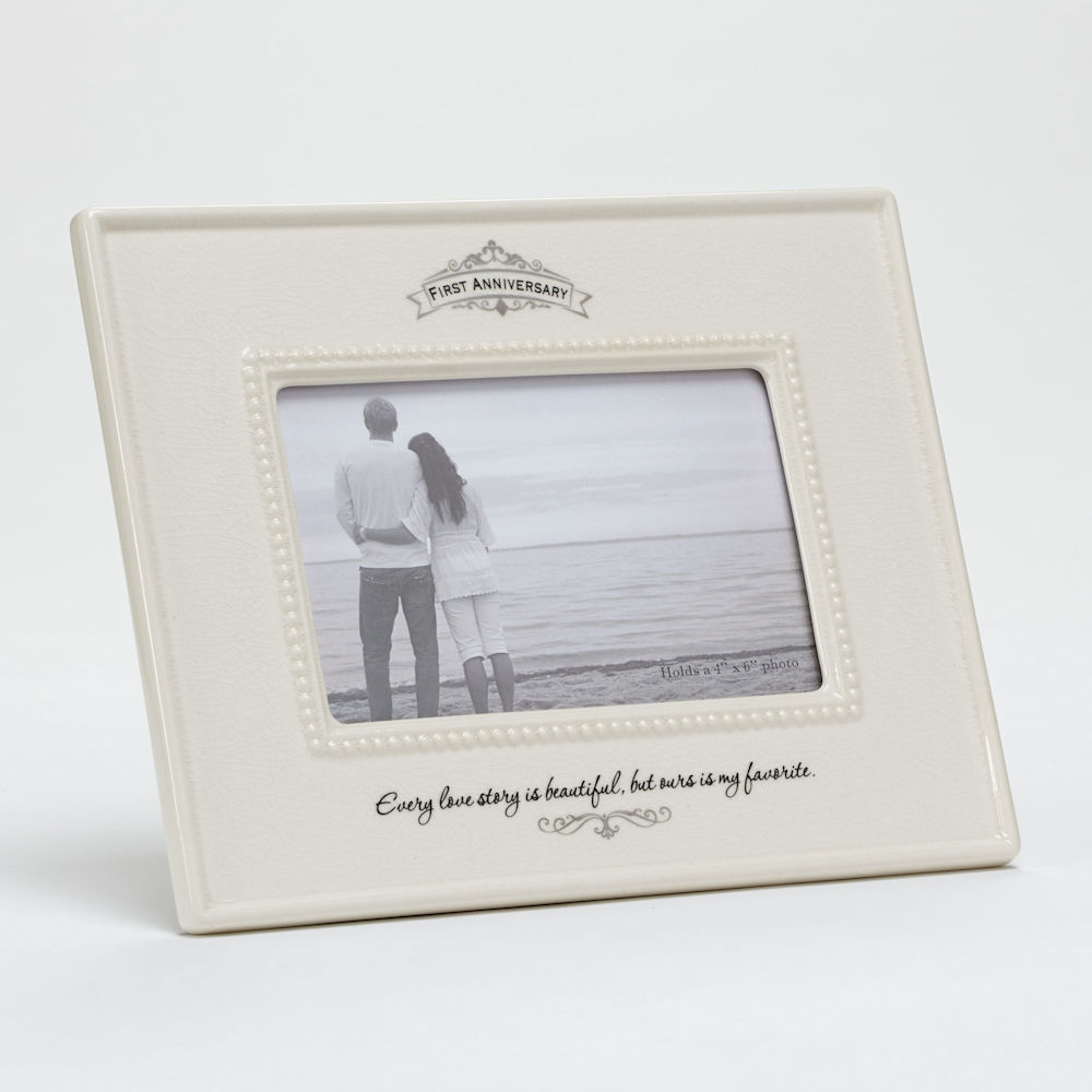 First anniversary frame fitzula s gift shop