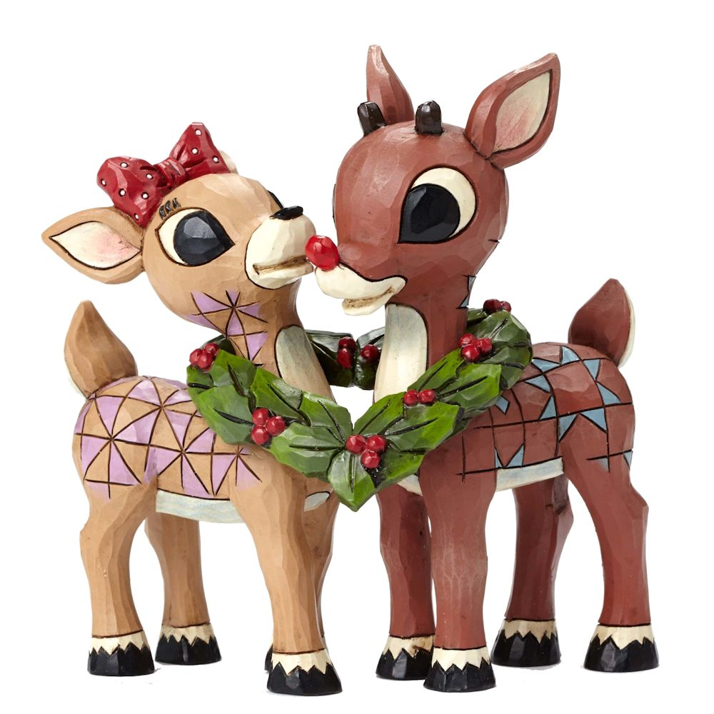 Heartwood Creek Rudolph Traditions Rudolph And Clarice
