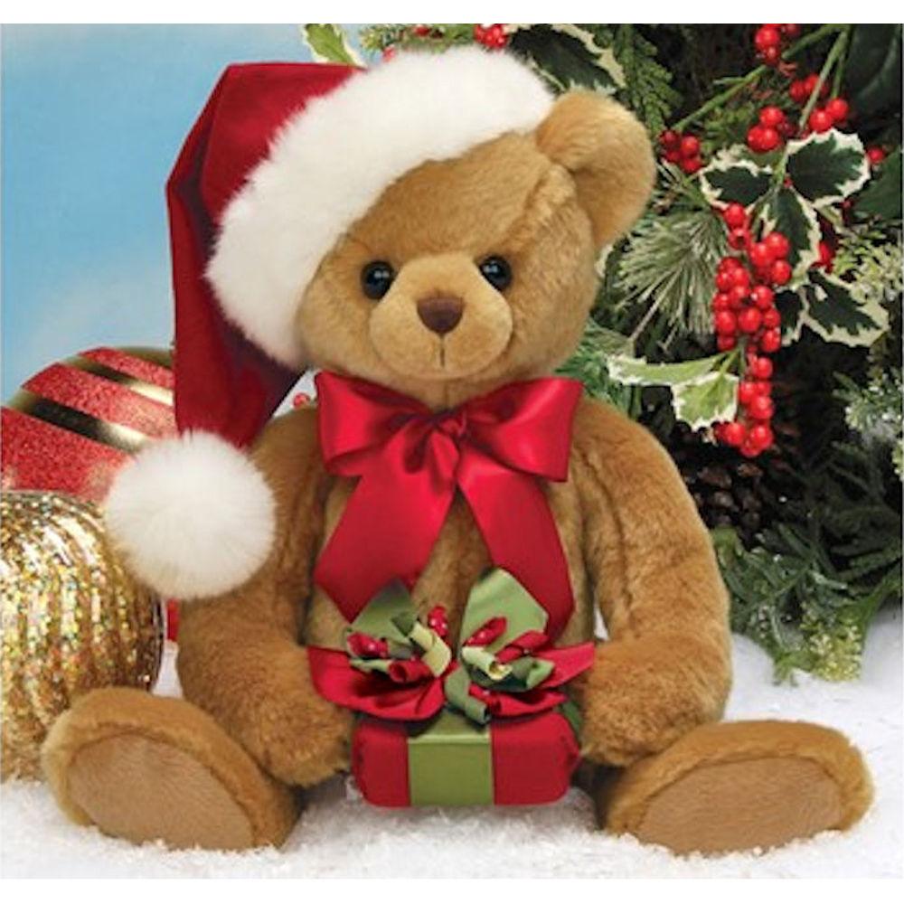 Bearington Christmas Holden Presents Teddy Bear: Fitzula's ...
