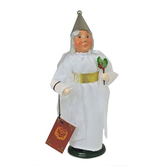 Spirit Of Christmas Past Costume.Byers Choice A Christmas Carol Spirit Of Christmas Past Figurine