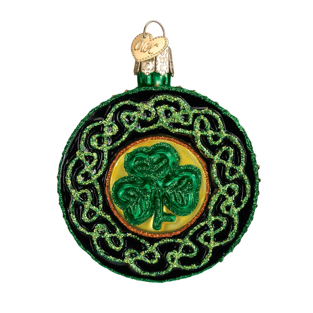 Old World Christmas Celtic Brooch Ornament: Fitzula's Gift ...
