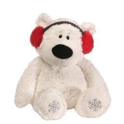 08fb312a95bd2 GUND Mini Snuffles with Knit Hat Teddy Bear Christmas Stuffed Animal.   7.95. GUND Blizzard 16