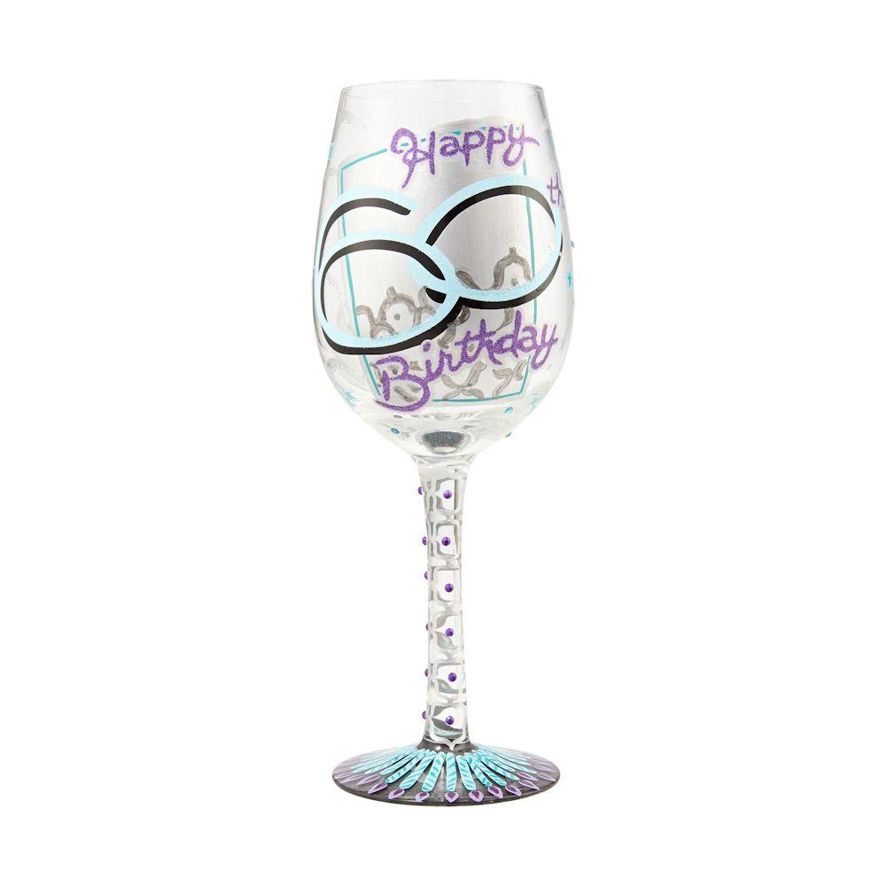Lolita 60th Birthday Wine Glass Fitzula S Gift Shop