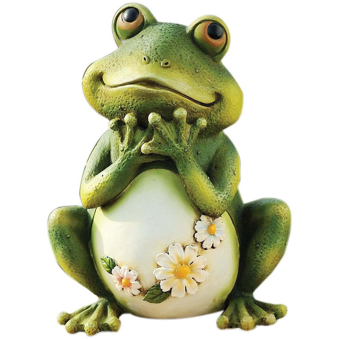 Roman Tall Frog Sitting Up Garden Statue Fitzula S Gift Shop