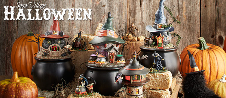 shop for department 56 snow village halloween