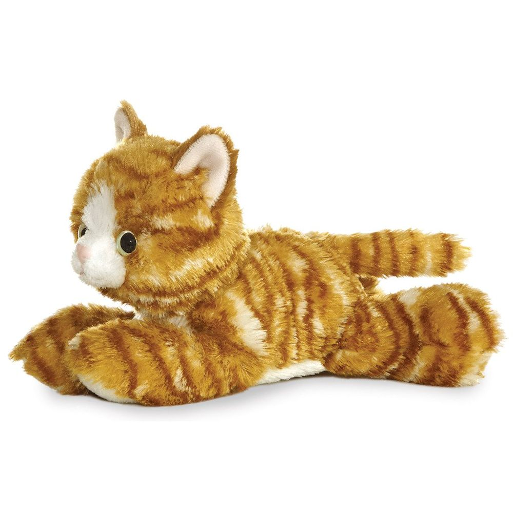 Aurora Molly The Stuffed Orange Tabby Cat 8 Flopsie Fitzula S Gift