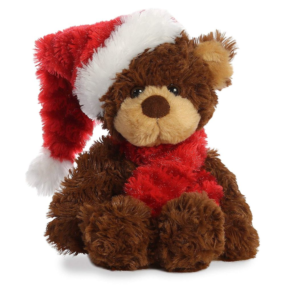 Aurora Bear With Scarf 10 Inch Stuffed Animal Fitzula S
