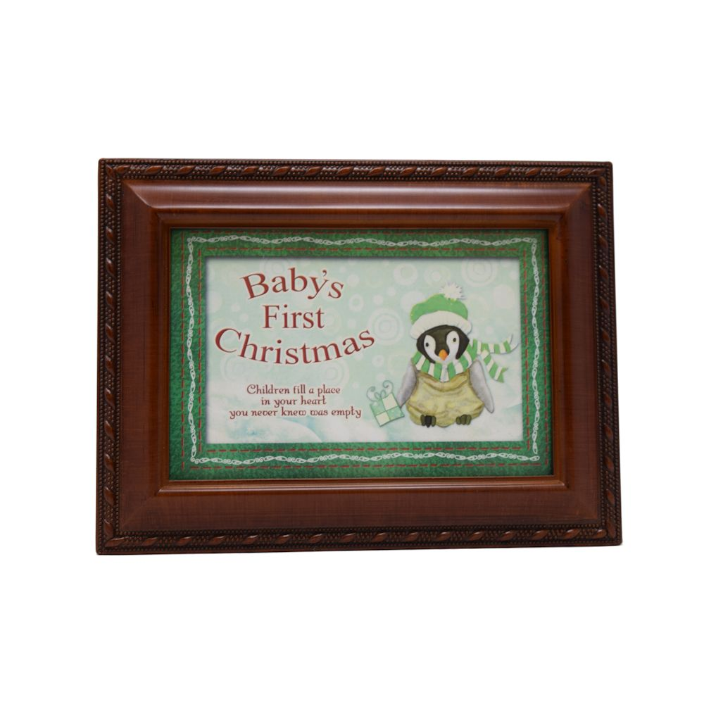 cottage garden baby 39 s christmas music box fitzula 39 s gift shop. Black Bedroom Furniture Sets. Home Design Ideas